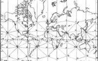 Сетчатая карта мира
