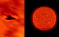 НЛО на Солнце