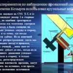 Проверка Теории времени Козырева 1