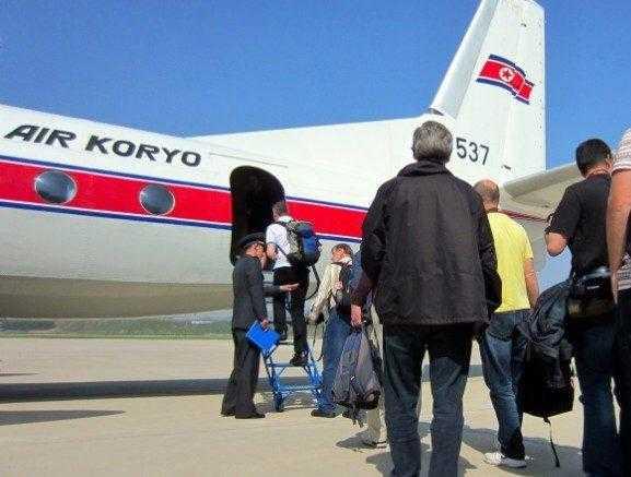 корейский самолет